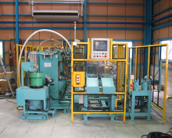 Handling & Nut Projection Welder